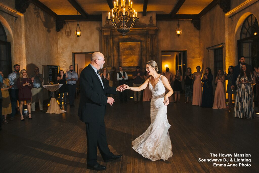 Howey Mansion Wedding Father Daughter Dance