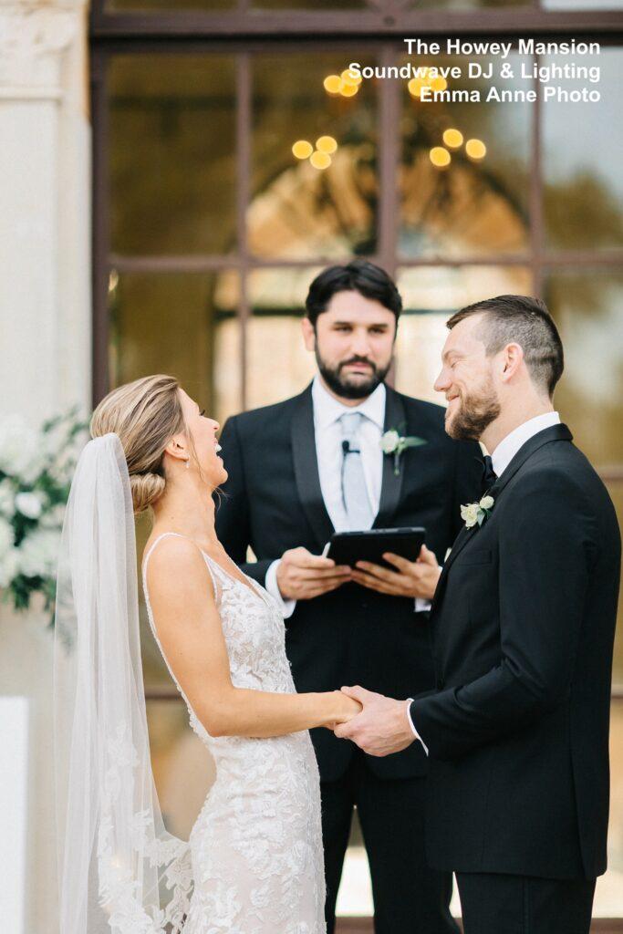 Howey Mansion Wedding DJ Soundwave Ceremony