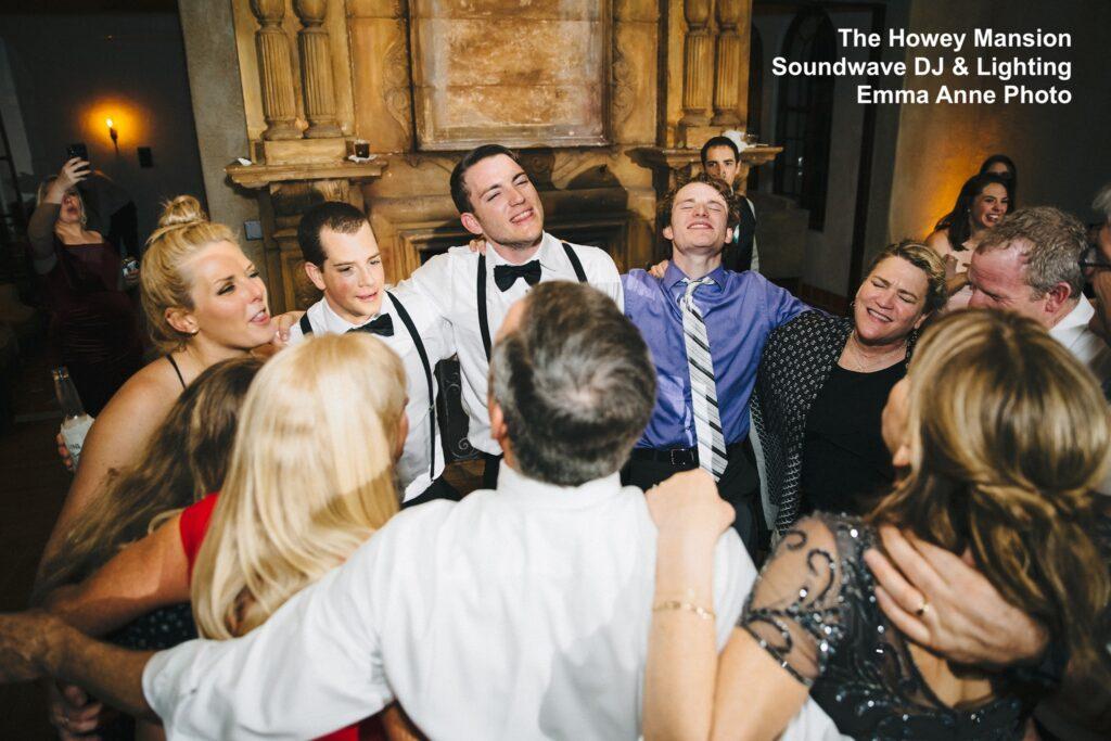 Howey Mansion Wedding Dance Floor