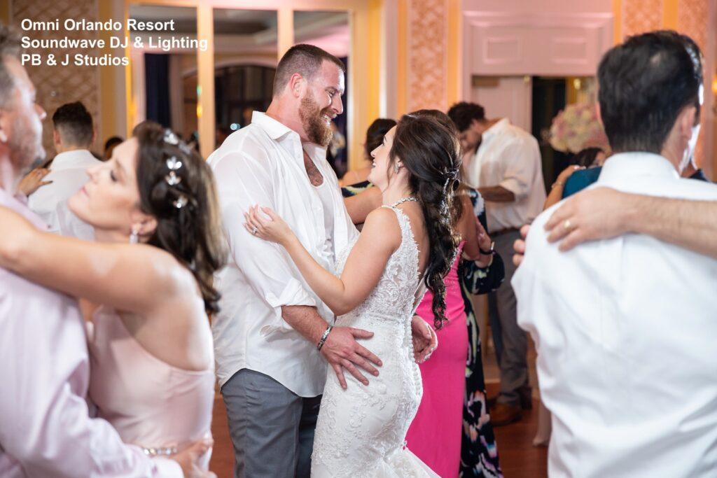 Omni Wedding Central Florida Soundwave Dancing