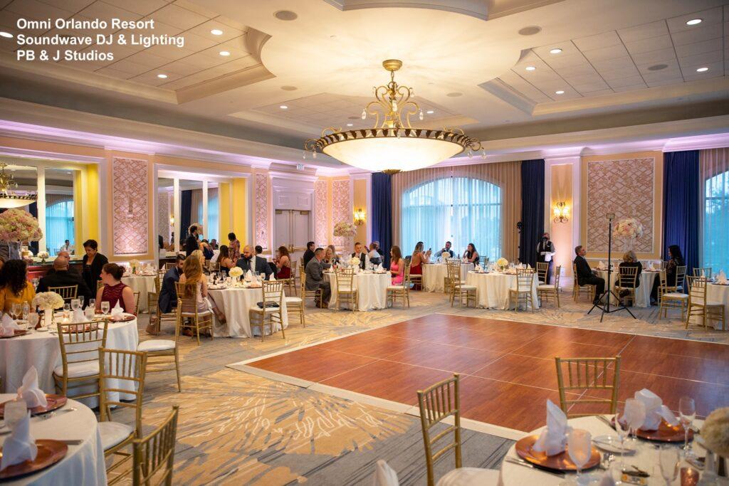 Omni Wedding Central Florida Soundwave Reception