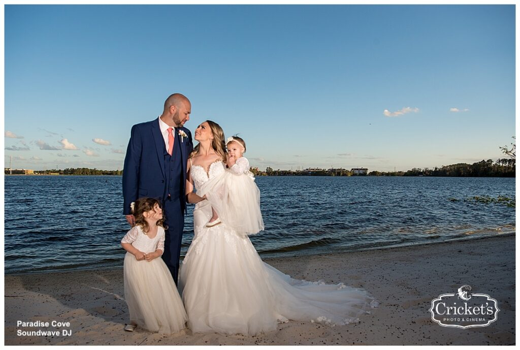 Paradise Cove Soundwave Wedding Orlando Beach