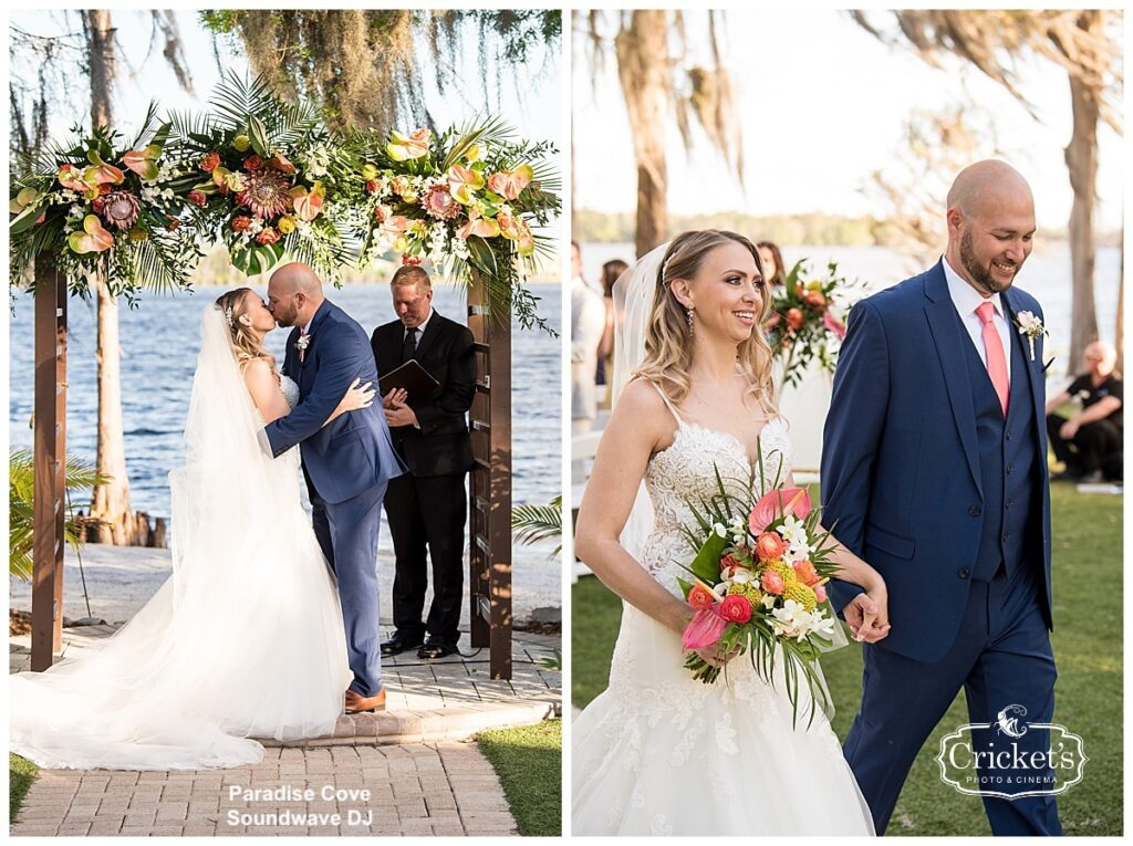 Paradise Cove Soundwave Wedding Orlando Ceremony