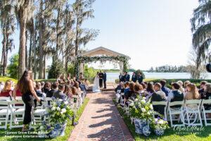Soundwave DJ Orlando Wedding Central Florida Ceremony Outdoor