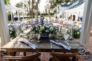 Soundwave DJ Orlando Wedding Central Florida Outdoor Ceremony