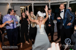 Soundwave DJ Orlando Wedding Central Florida Bride Dancing