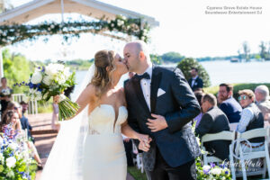 Soundwave DJ Orlando Wedding Central Florida First Kiss