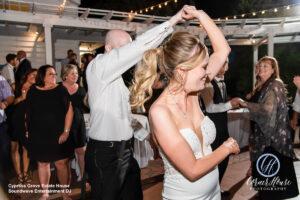 Soundwave DJ Orlando Wedding Central Florida Bride Groom Dance