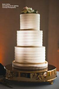 Soundwave Central Florida Wedding Cake