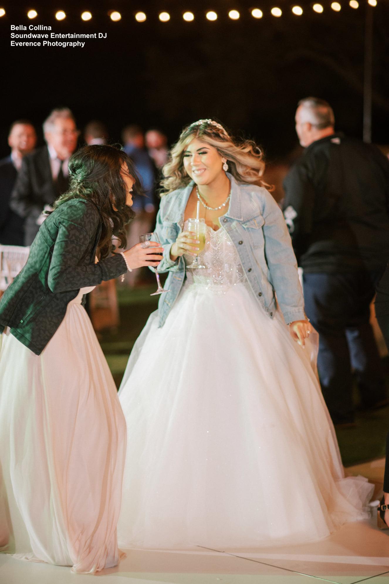 Bride Dance Floor Soundwave DJ Bella Collina
