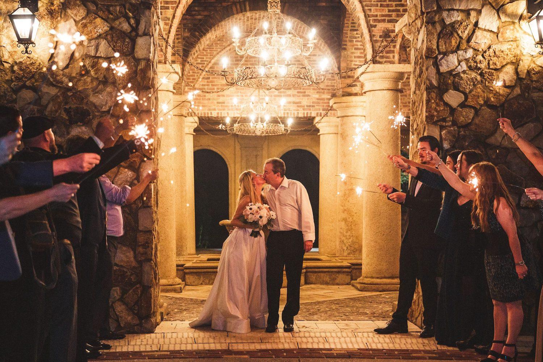 Sparkler Send Off Soundwave Central Florida Wedding