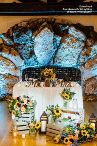 Dubsdread Soundwave Wedding Head Table
