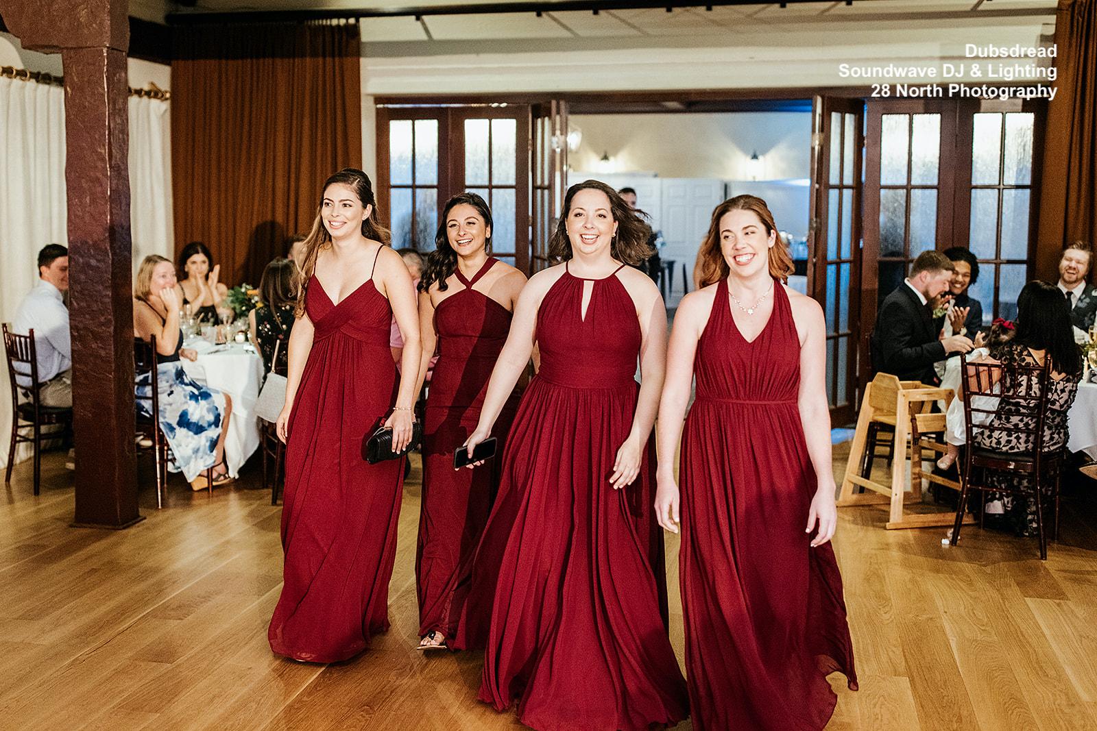 Dubsdread Soundwave Wedding Bridesmaids