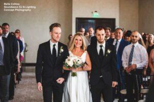 Soundwave Central Florida Wedding Bride Groom