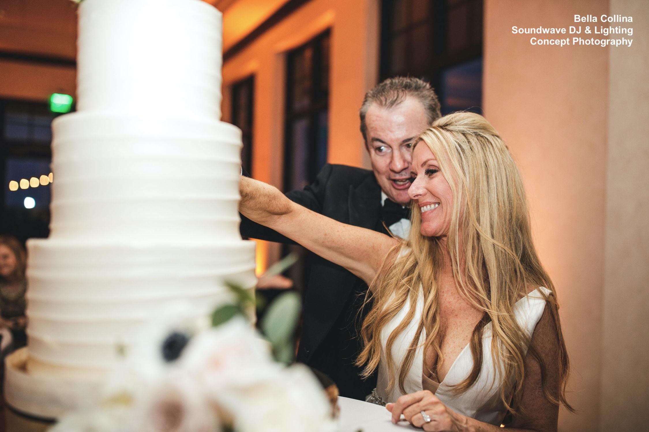 Cake Cutting Soundwave Central Florida Wedding