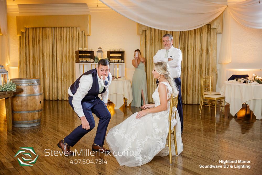 Garter Highland Manor Wedding