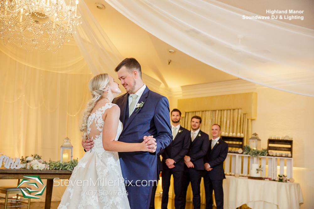 First Dance Highland Manor Wedding