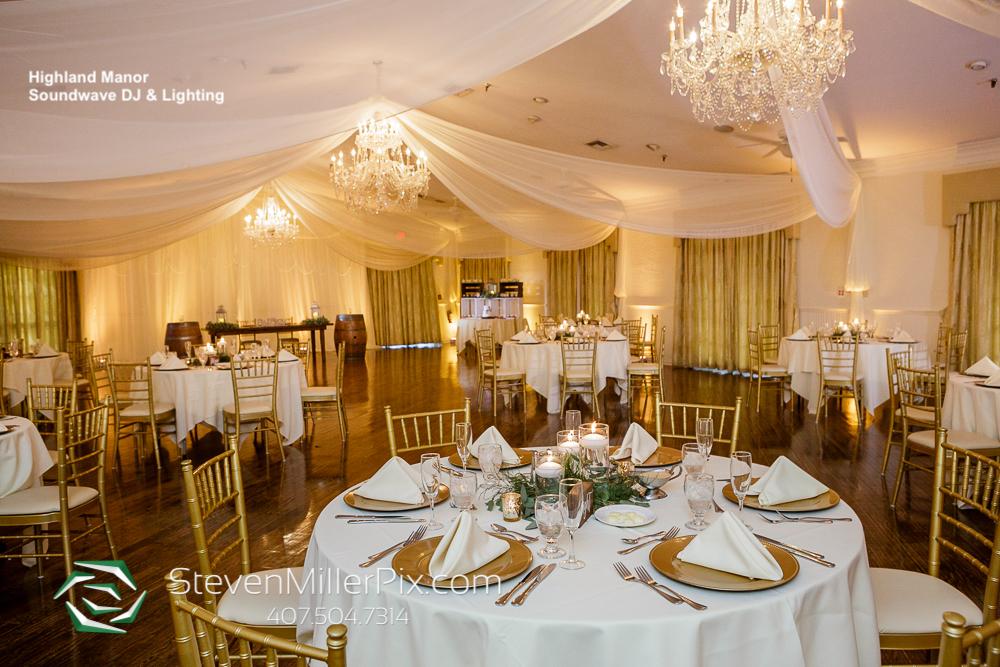 Reception Highland Manor Wedding