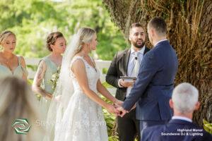 Highland Manor Wedding Ceremony
