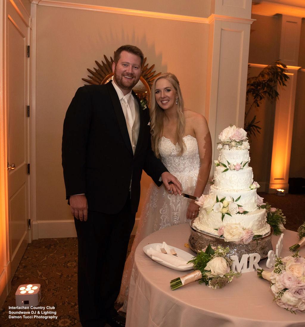 Cake Interlachen Country Club Wedding