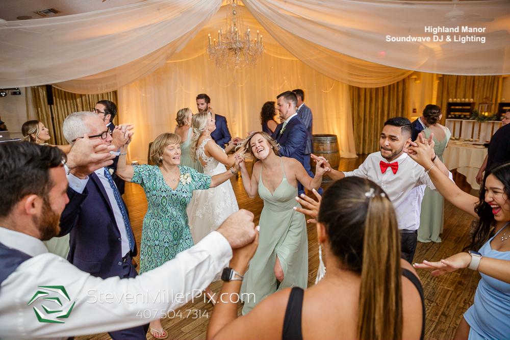 Dance Floor Highland Manor Wedding