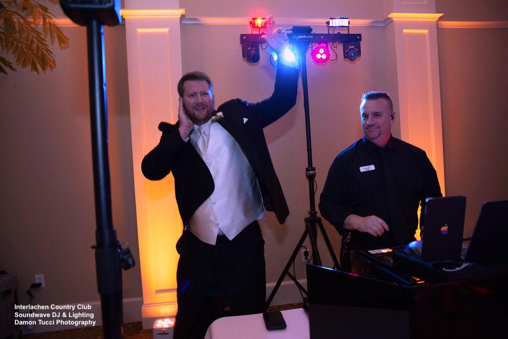 DJ Ray Interlachen Country Club Wedding