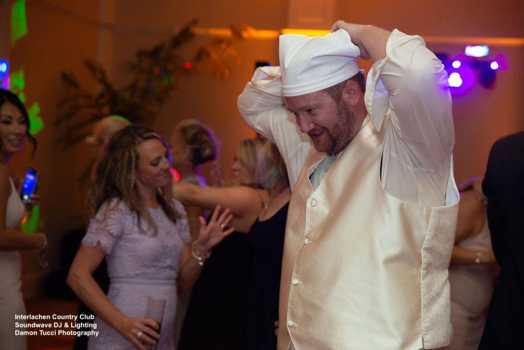 Dance Floor Interlachen Country Club Wedding