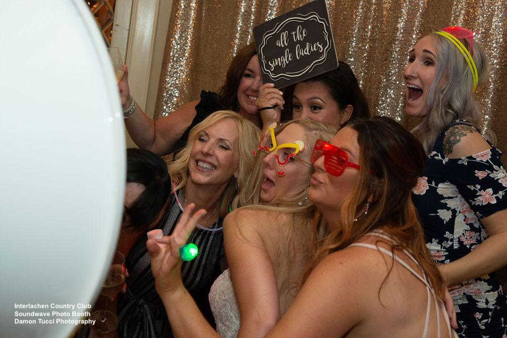 Photo Booth Interlachen Country Club Wedding