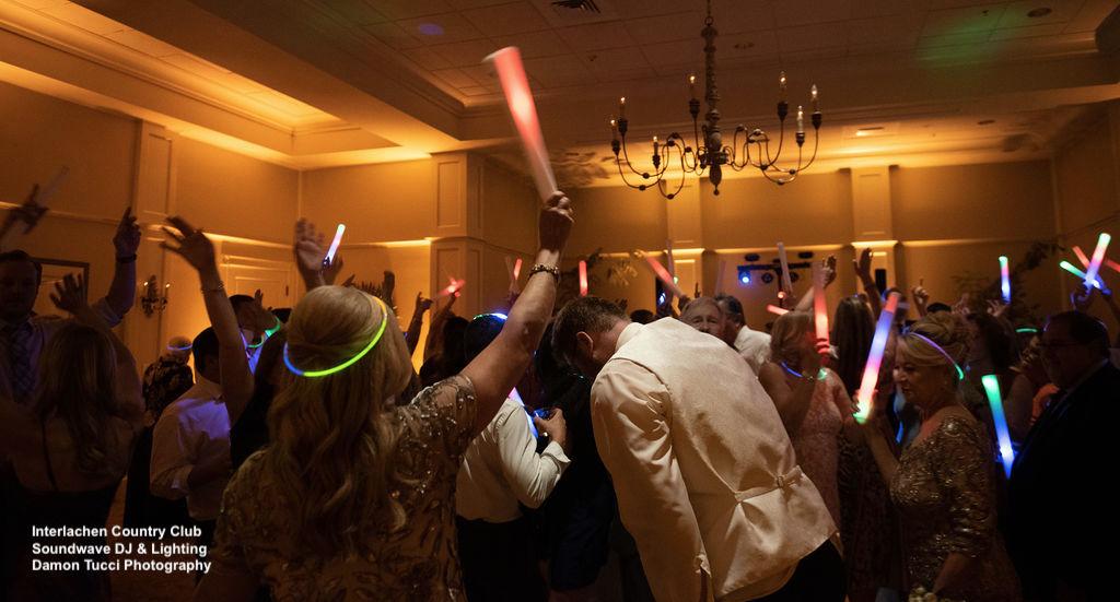 Party Dance Floor Interlachen Country Club Wedding