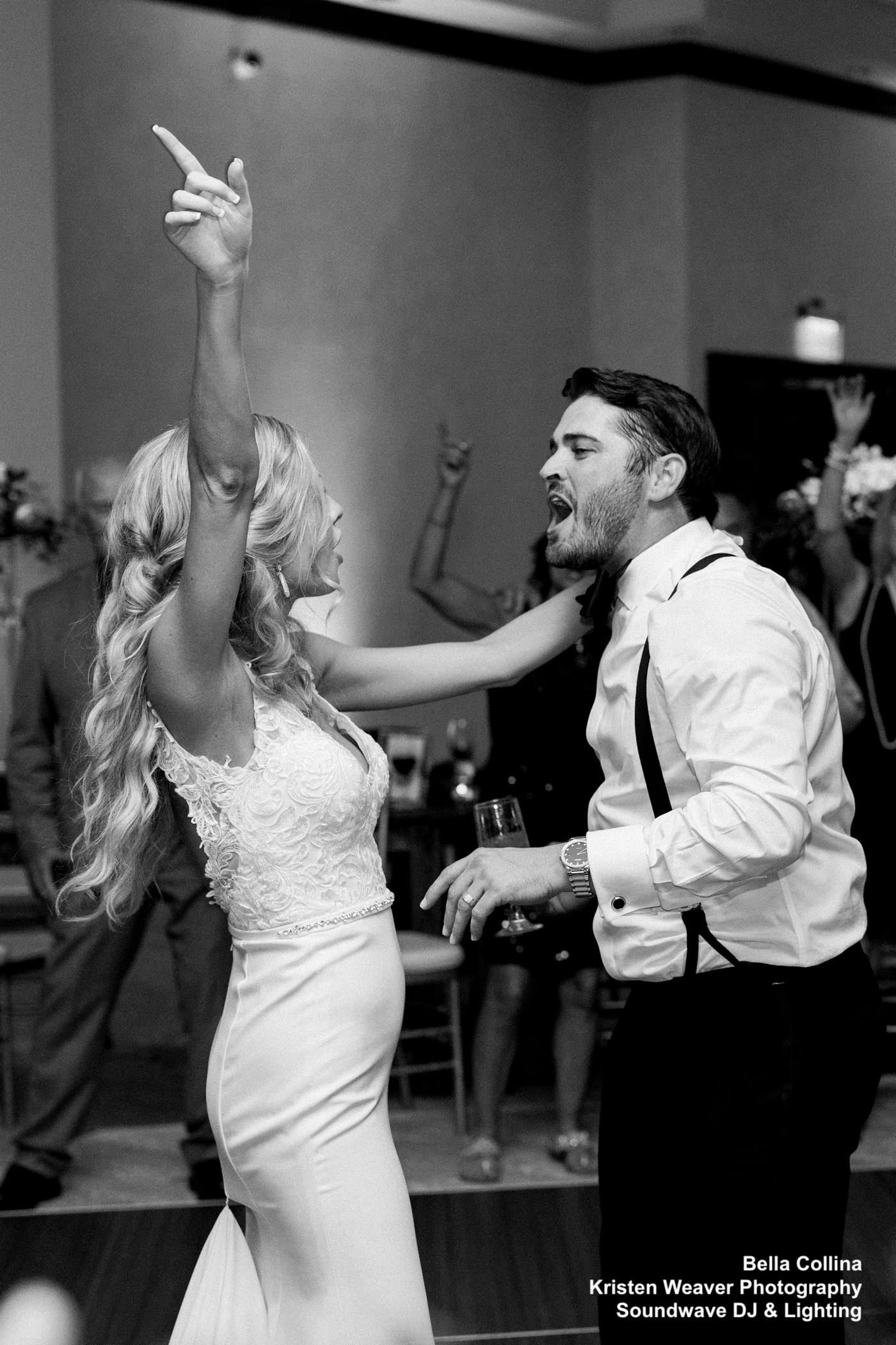 Bride and Groom Dance Soundwave