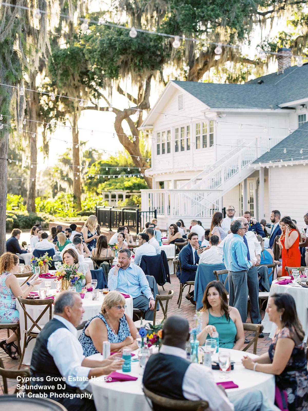 Cypress Grove Outdoor Reception