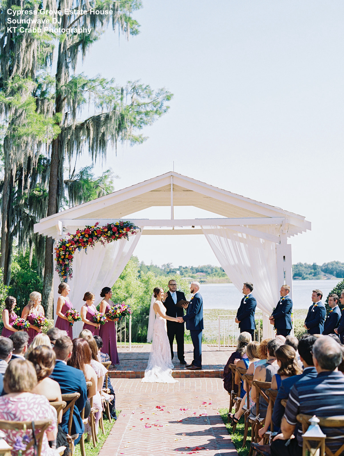 Outdoor Waterfront Ceremony