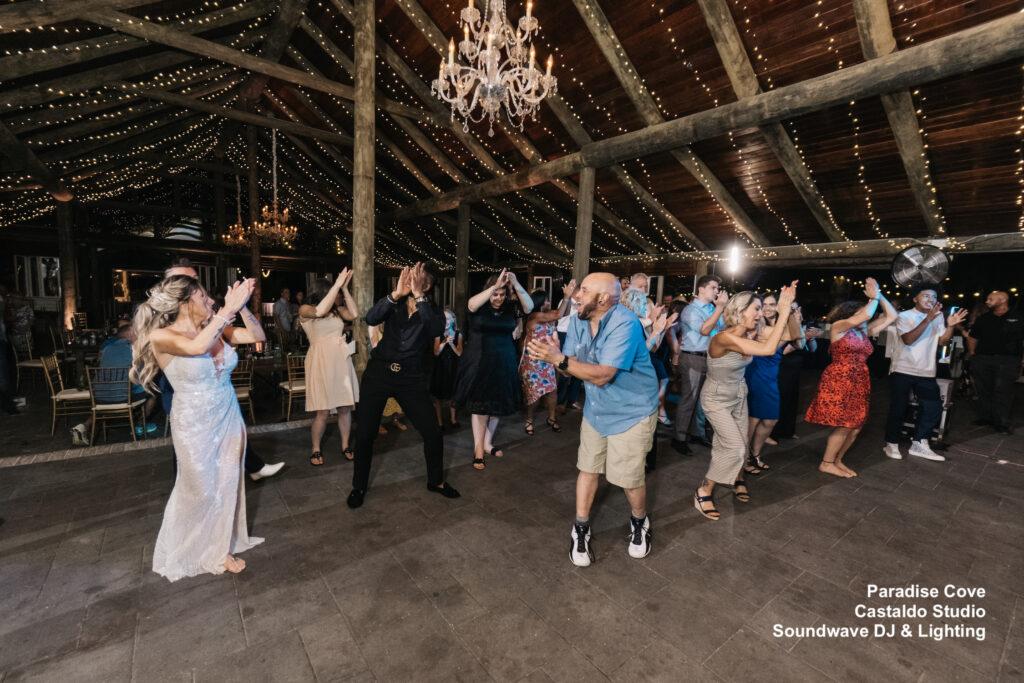 Wedding group dance