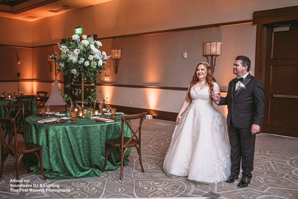 enchanted wedding at alfond inn soundwave entertainment