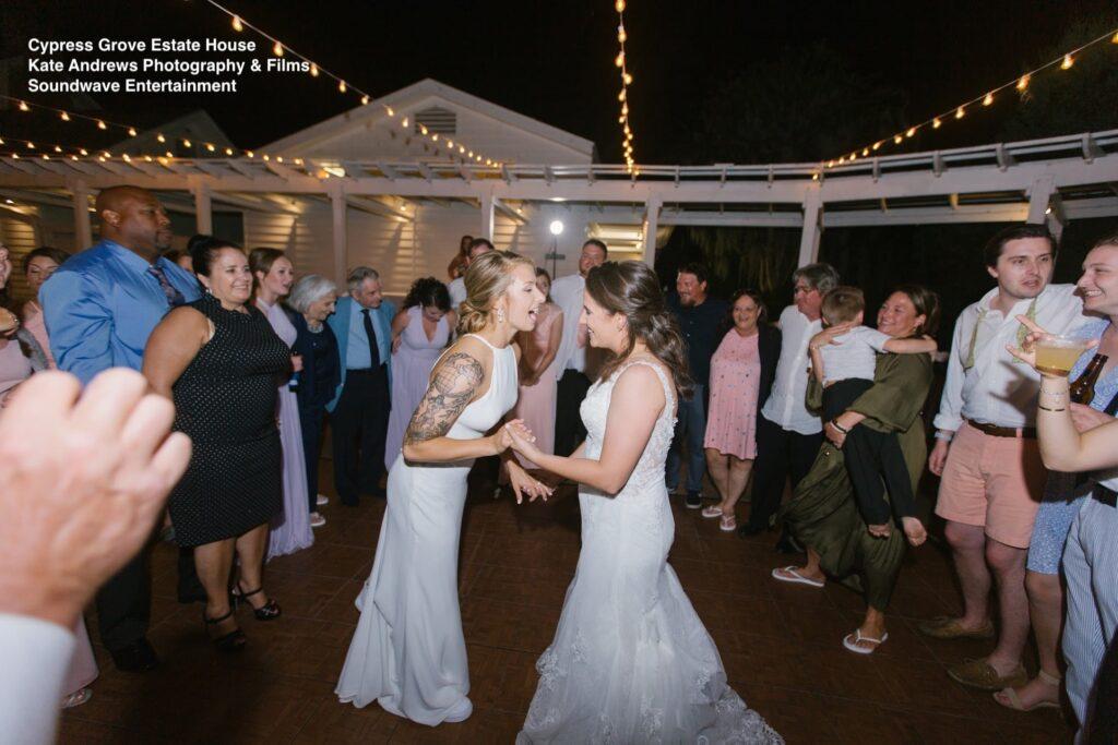 final dance everyone wedding cypress grove soundwave entertainment