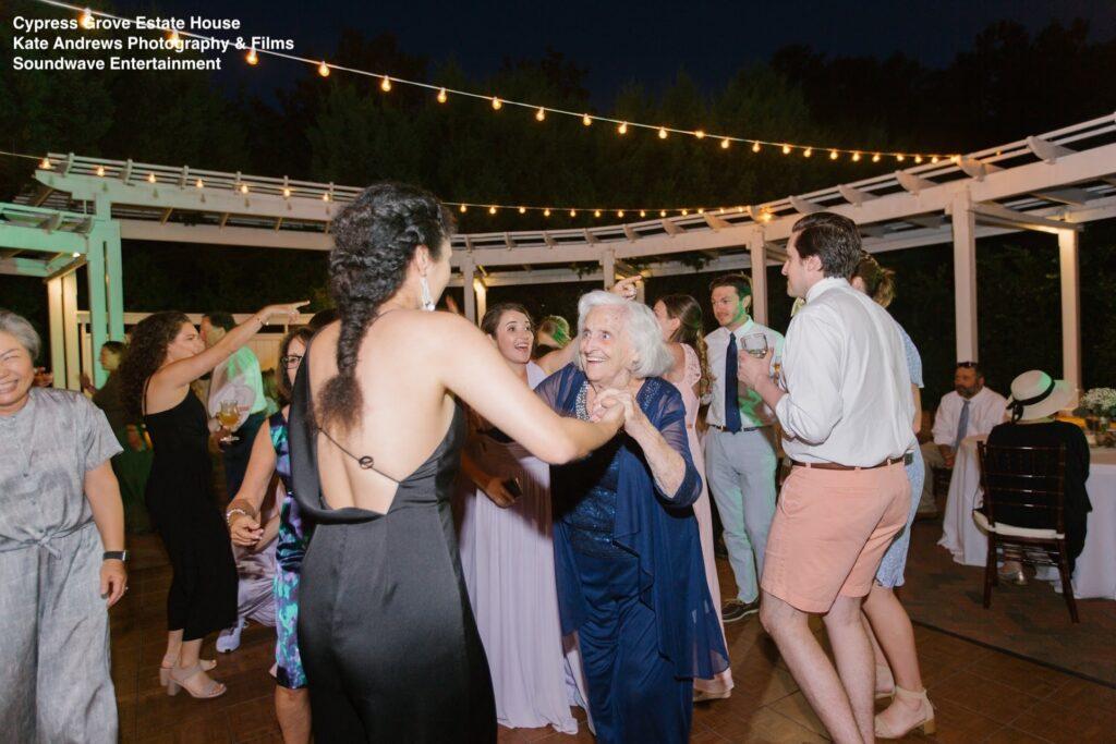 reception wedding cypress grove soundwave entertainment