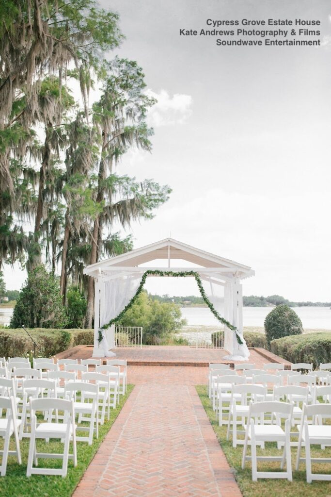 venue wedding cypress grove soundwave entertainment