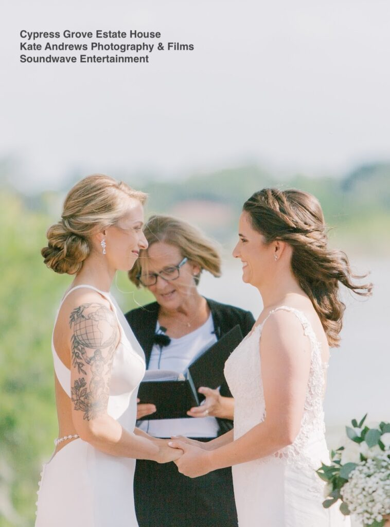 vows wedding cypress grove soundwave entertainment