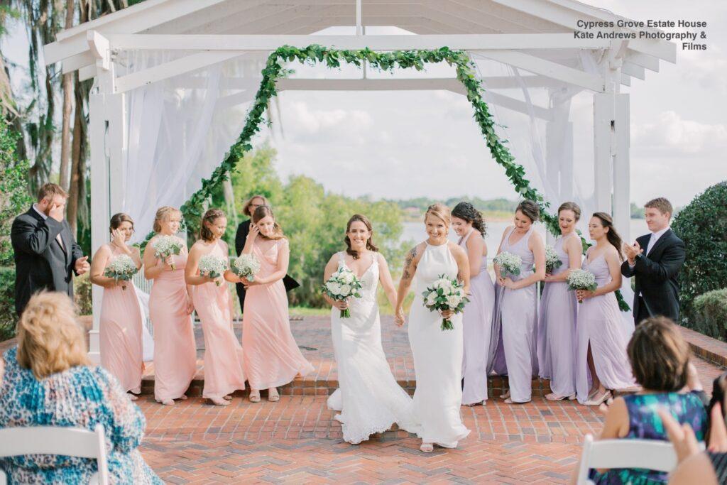 wedding cypress grove soundwave entertainment recessional